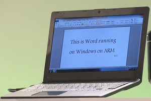 Office running on Windows 8 ARM