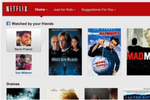 Netflix Facebook Sharing