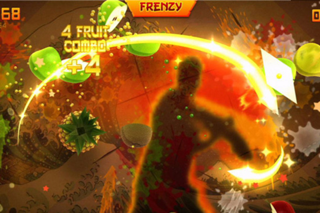 Fruit Ninja Kinect