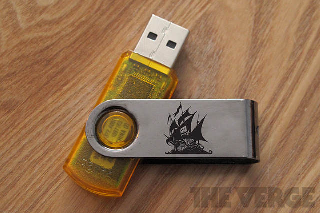 The Pirate Bay USB Key
