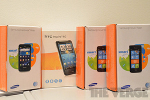 AT&amp;T phones, windows phone boxes (1020)