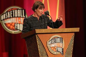 Hall of Fame coach Tara VanDerveer has the antidote for your press. Photo by Jim Rogash/Getty Images.