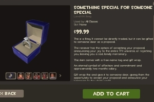 Team Fortress 2 $100 wedding ring