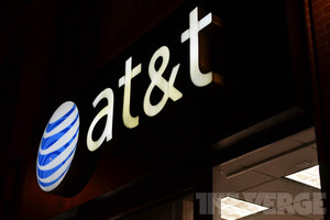 AT&amp;T store logo symbol stock (1020)