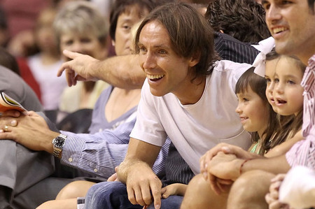 It's not all about hoops for Steve Nash(Photo by Christian Petersen/Getty Images)