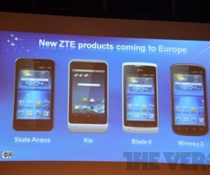 ZTE skate acqua