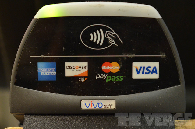 NFC Contactless Payments reciever (1020)