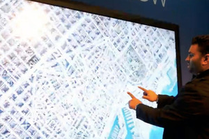 82-inch display demo
