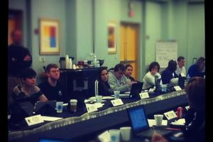 An image from the mock selection panel via @NCAAWomensBKB's twitter.