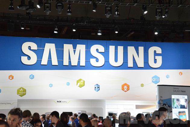 Samsung logo, ces (1020)