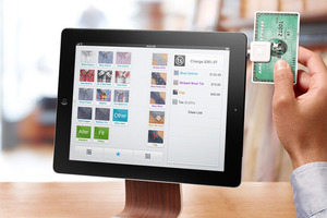 Square Register iPad