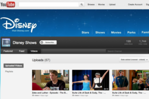 youtube disney shows
