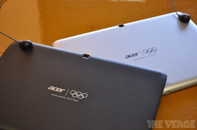 Gallery Photo: Acer Iconia Tab Olympic Games Edition hands-on photos