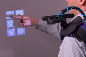 Wearable projector