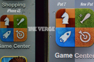 New iPad iPad 2 iPhone 4S retina comparison