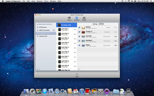 Apple Configurator screenshot