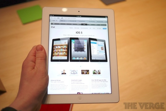 Gallery Photo: New iPad hands-on photos