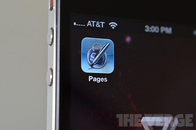 Pages iOS Homescreen Icon Shot