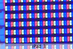 New iPad and iPad 3 screen comparison from Lukas Mathis