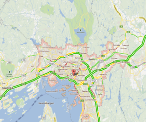 Google Maps Oslo