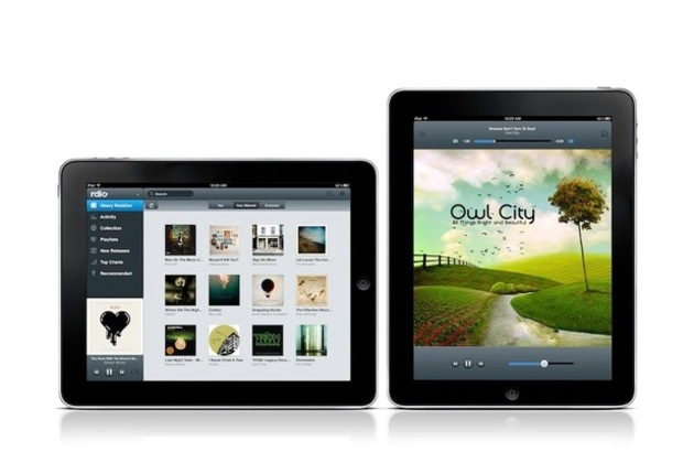 Rdio for iPad