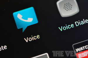 Google Voice Icon (white watermark)