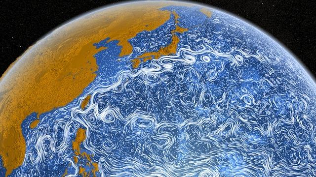 Посмотрите на величественный Мировой океан на карте мира: он завораживающе огромен, но статичен и...