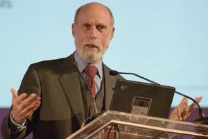 vint cerf (photo credit flickr, Charles Haynes)