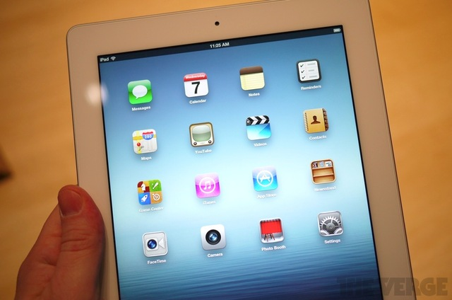 ipad screen