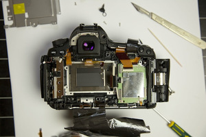 Canon 5D Mark III teardown