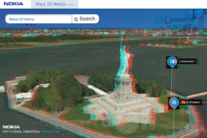 Nokia Maps webGL Beta