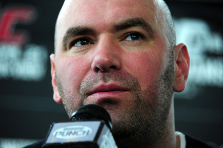 Dana 'Beyond Pissed' with Overeem