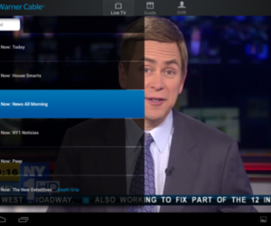 TWC android streaming app