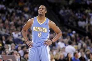 Arron Afflalo saw his Nuggets drop one to the Warriors 112-97. Mandatory Credit: Cary Edmondson-US PRESSWIRE