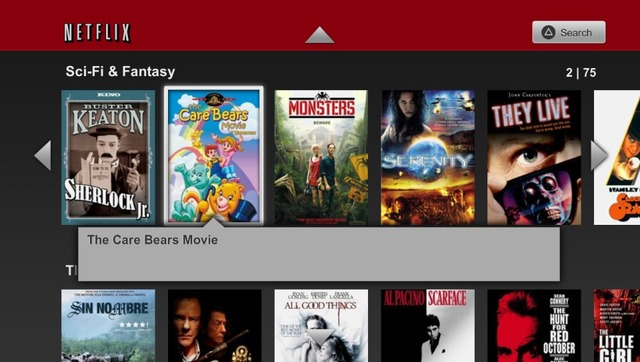 Gallery Photo: Netflix for PS Vita app screenshots