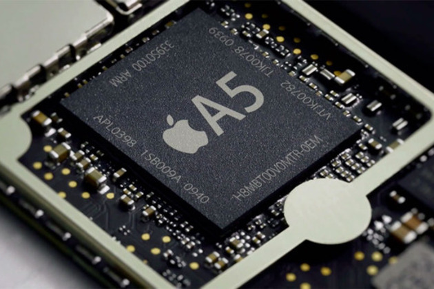 Apple A5 stock press