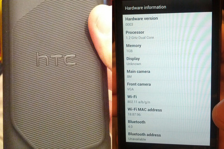 HTC Incredible 4G leaked images from Android Police
