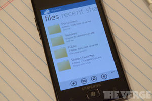 SkyDrive App Windows Phone