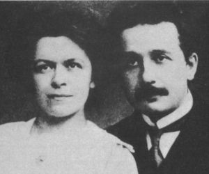 Einstein and Mileva (First Wife)