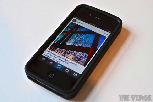 instagram on iphone