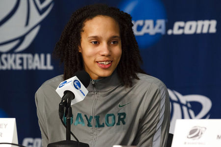 Brittney Griner won't be taking the last spot on the 2012 United State Olympic team this year, due to school and family obligations. (Credit: Rick Osentoski-US PRESSWIRE)