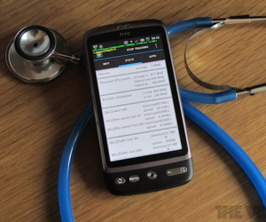 Android Diagnosis Desire Stethoscope