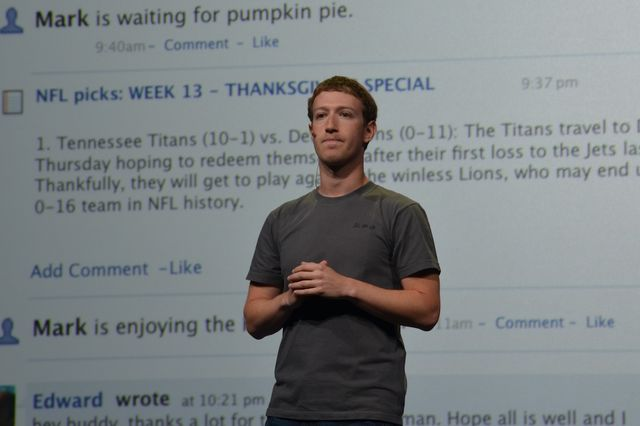 Mark Zuckerberg serious