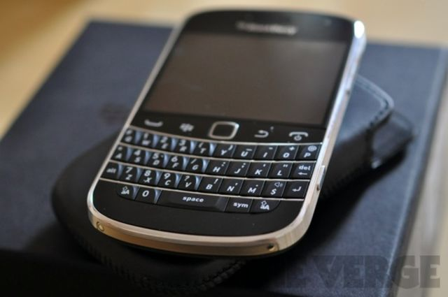 BlackBerry leather
