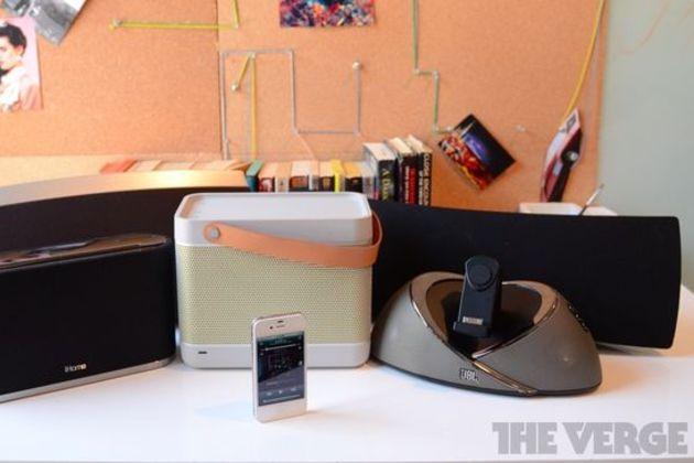 AirPlay speakers roundup hero