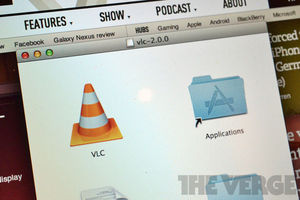 VLC 2.0 applications folder