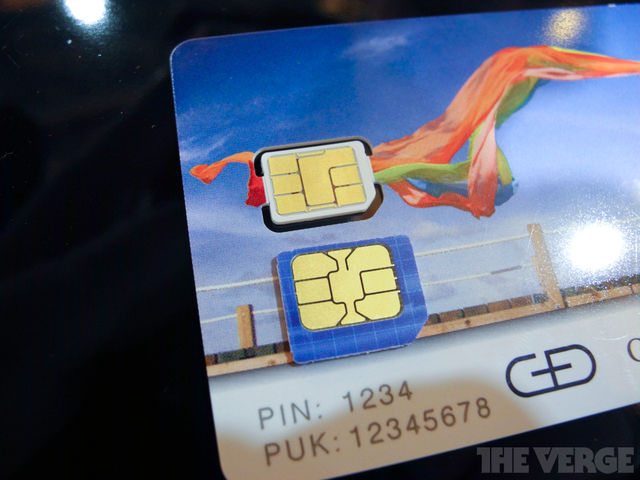 Gallery Photo: Apple's nano-SIM design from Giesecke & Devrient