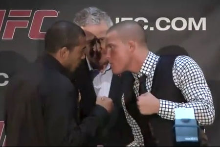jose aldo erik koch face off at ufc 149
