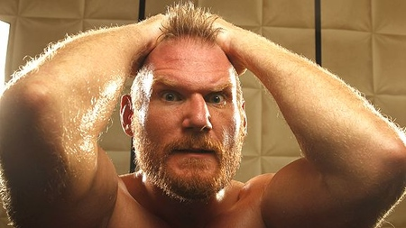 Photo of Josh Barnett courtesy of  www.studiomma.com.
