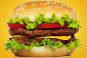 Hamburger photo from Shutterstock